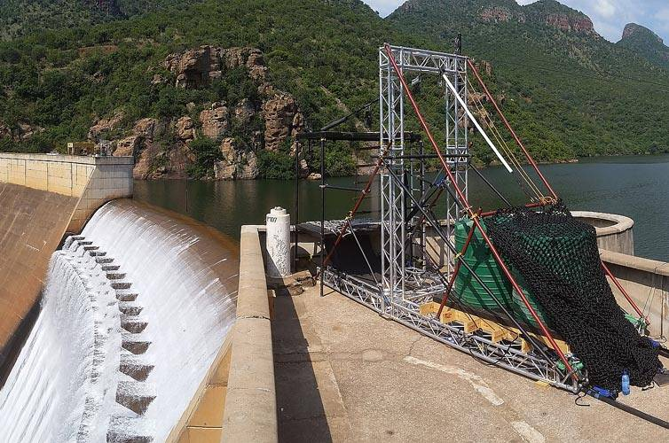 Film Riggers - Rigging at IAC Dam